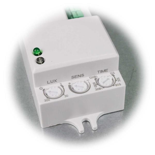 Vielseitig einstellbarer HF-Bewegungsmelder