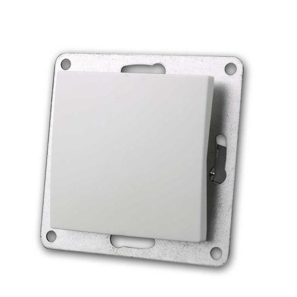 FLAIR Taster weiß, 250V~/10A, Unterputz