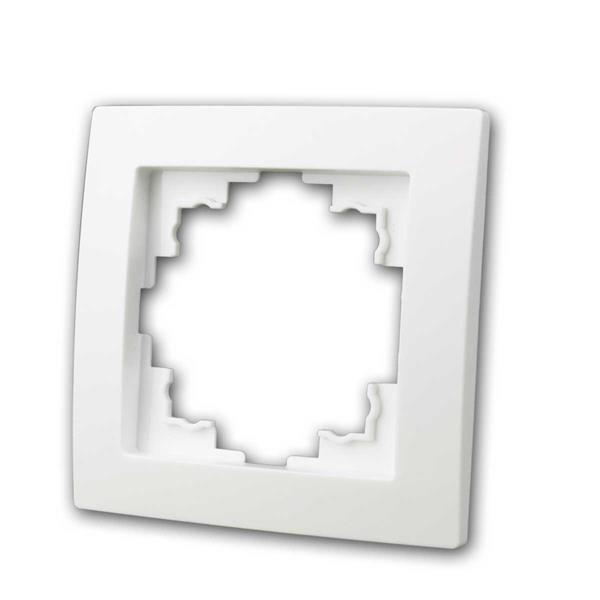 FLAIR Rahmen, 1-fach, weiß matt, Einfachrahmen