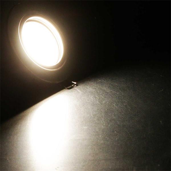 Warmweiß leuchtender 3W Leuchteneinsatz inkl. Trafo