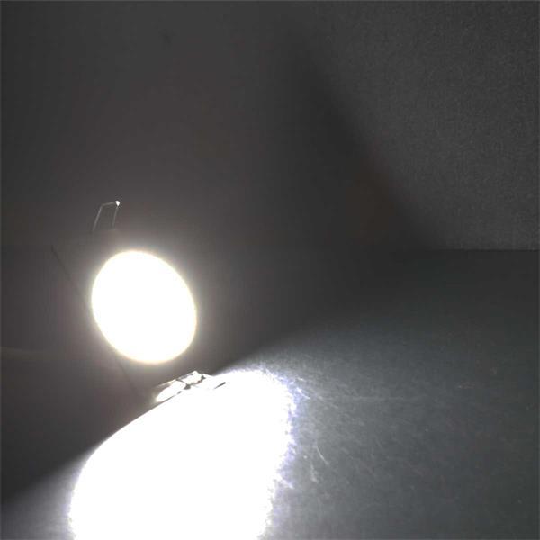 Neutralweiß leuchtender LED Einsatz für Einbaustrahler