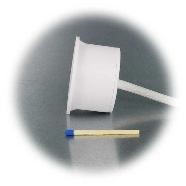 Kompakter 3W-Leuchteneinsatz in sehr flacher Bauweise