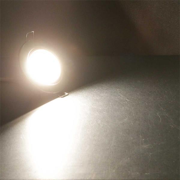 Warm weiß leuchtender LED-Einsatz für Einbaustrahler