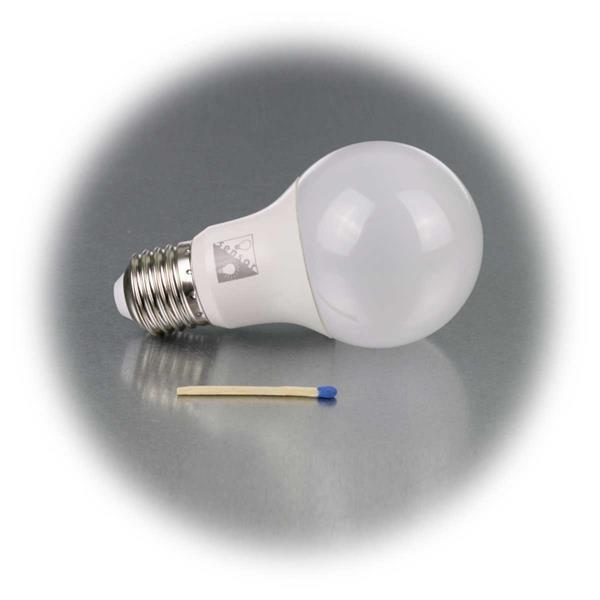 klassische Glühlampenform mit moderner und intelligenter LED Technik