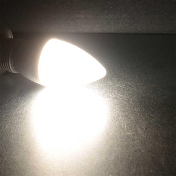 Kerzenlampe mit neutralweißen 6W LEDs