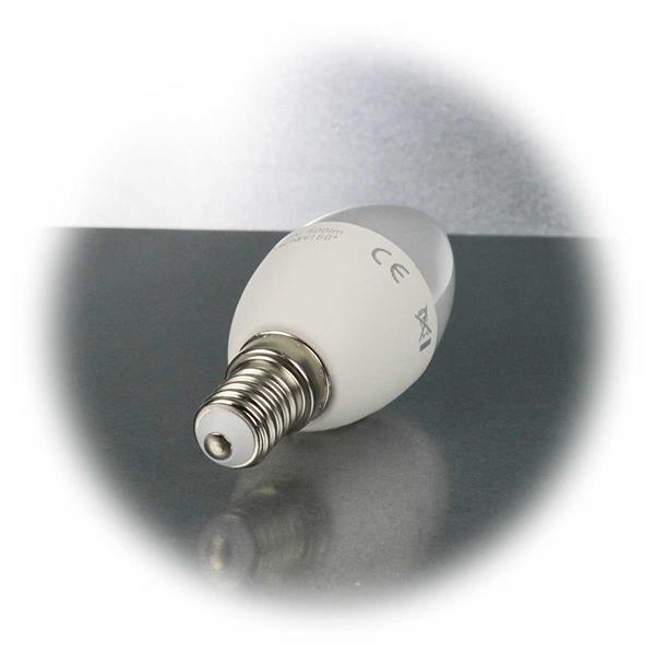 LED Kerzenlampe mit E14-Sockel