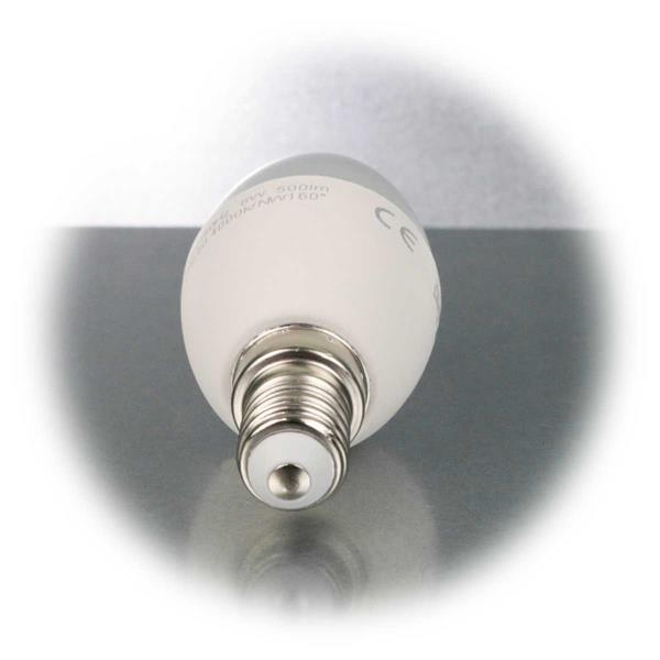 LED Kerzenlampe mit E14-Sockel und 500lm