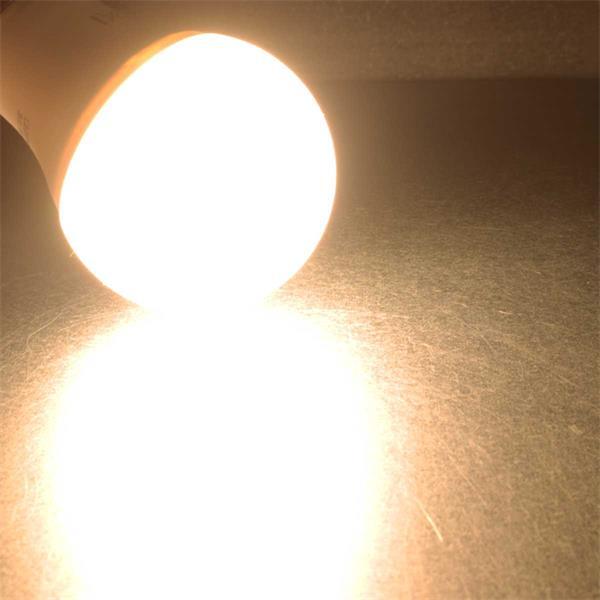 Warmweiß leuchtende 10W LED Glühbirne
