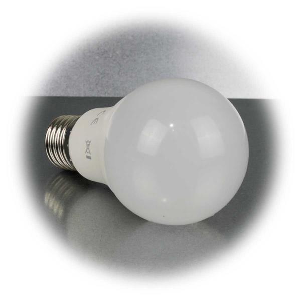 In 3 Stufen per Lichtschalter dimmbare LED Glühbirne