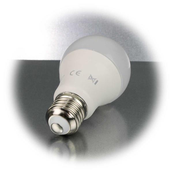 Dimmbare LED Glühbirne mit E27-Sockel