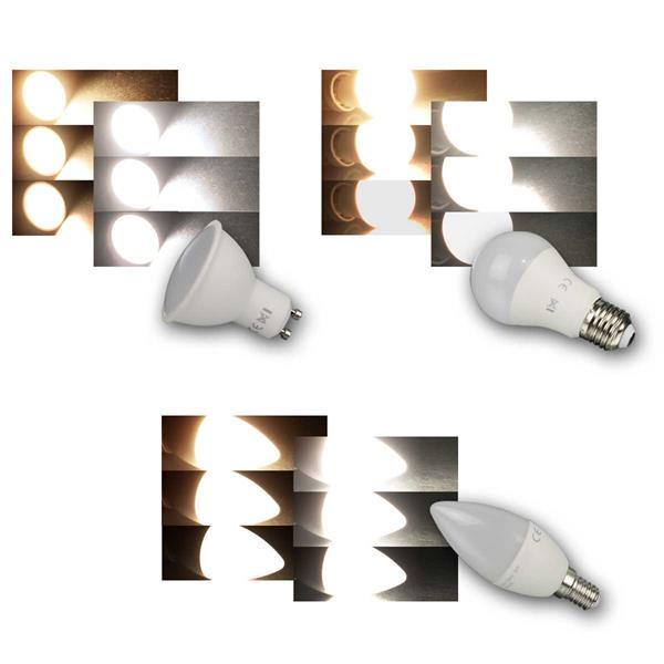 Leuchtmittel 3-Stufen-Dimm GU10/E27/E14 ChiliTec