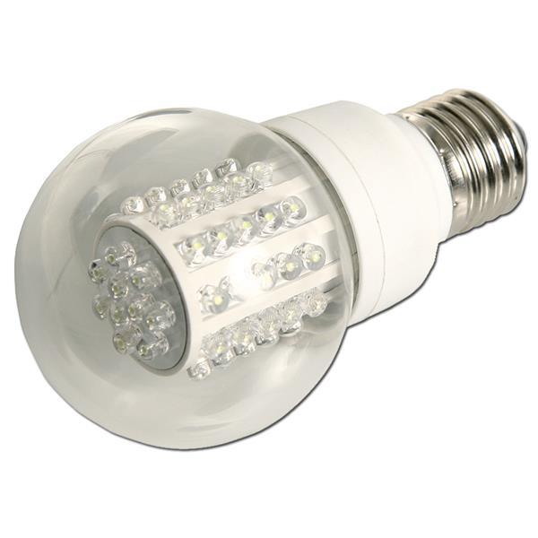 LED Glühbirne mit Sockel E27 für 230V und nur ca. 3W Verbrauch