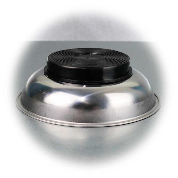 Magnetschale mit magnetischem Gummifuß