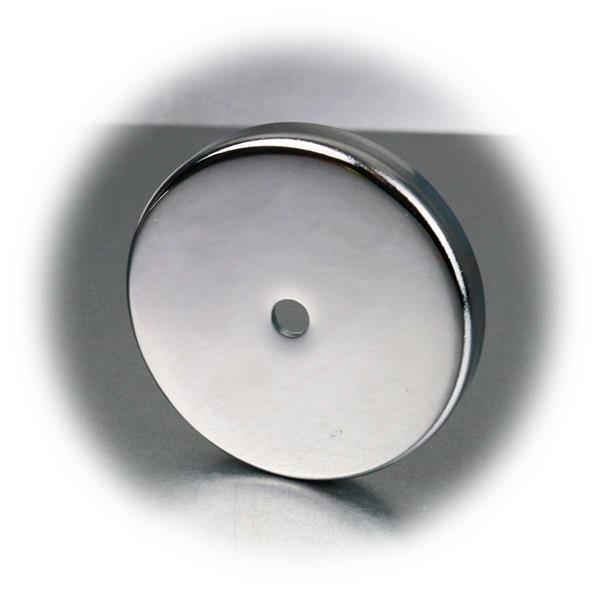 Leistungsstarker Rundmagnet mit 5, 7, 11, 29 oder 43kg Haftkraft