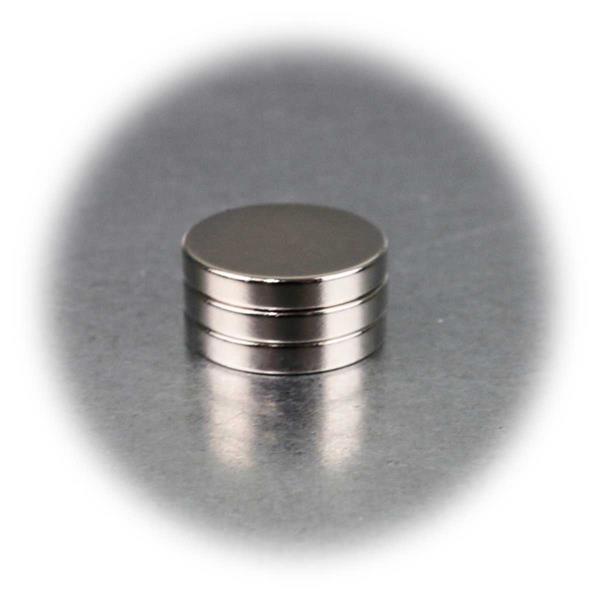 Superstarke runde Neodymiummagnete