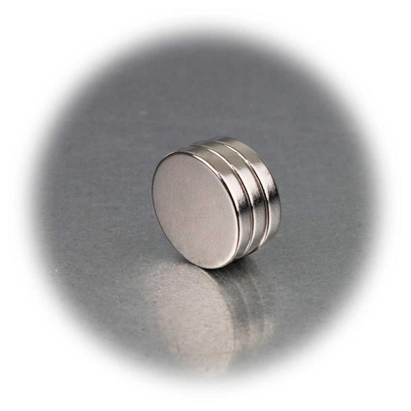 Enorm starke Neodymium-Rundmagnete