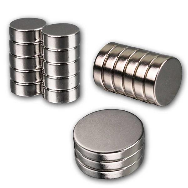 Neodymiummagnet-Sets, 3 versch. Größen zur Auswahl