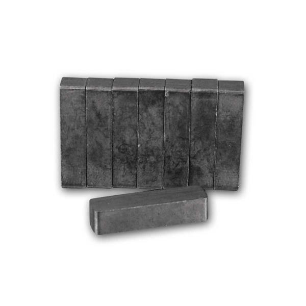 Magnetset rechteckig 8 Stück 22x5x5.5mm Keramik