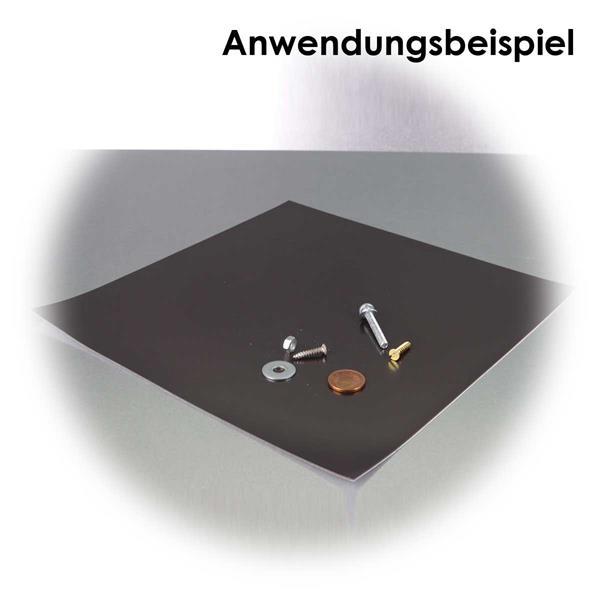 Selbstkelbende Magnetfolie, 200x200mm