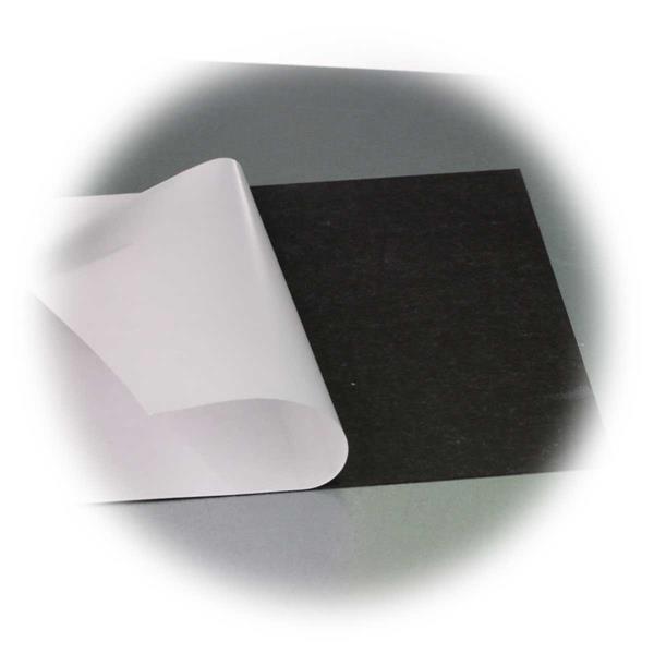 Flexible Magnetklebefolie auf Maß zuschneidbar