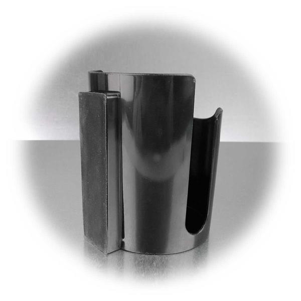 Utensilienhalter aus Kunststoff mit  gummierten Magneten