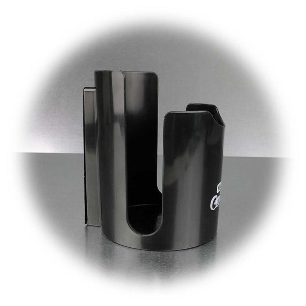 Becherhalter zum Befestigen an metallischen Oberflächen