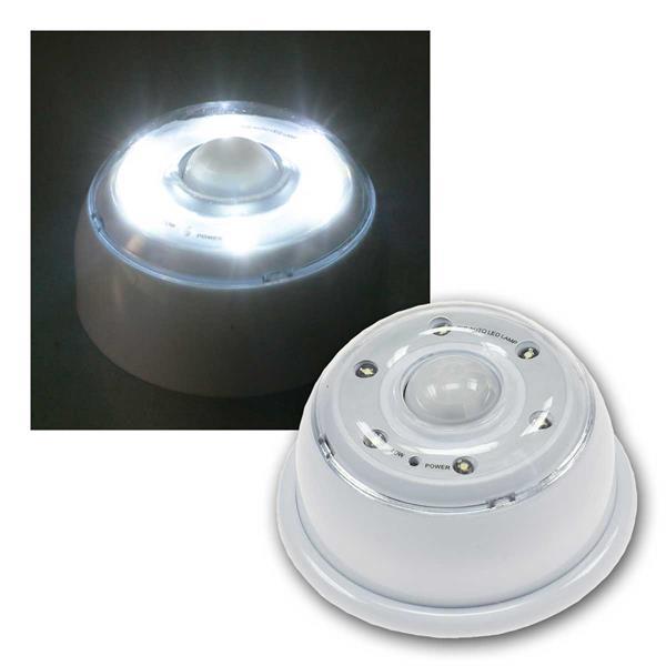 LED Sicherheitslicht m. Bewegungsmelder LEDs weiß