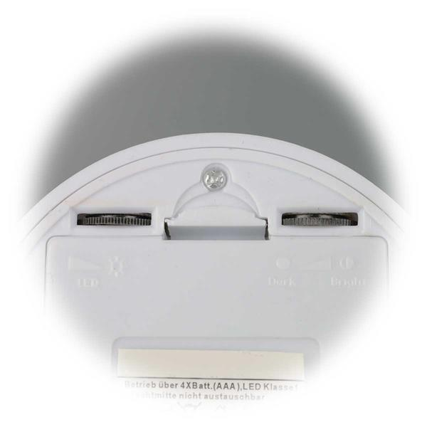 LED Sicherheitslicht mit wählbarer Leuchtdauer