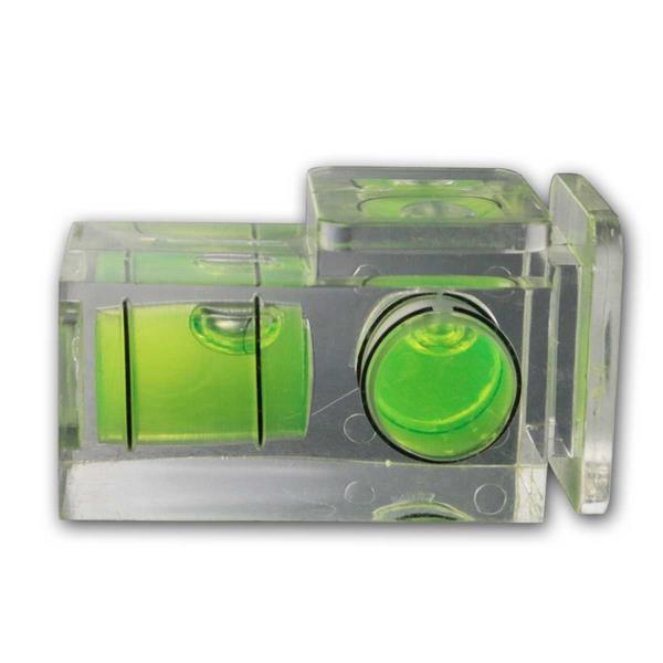Blitzschuh-Wasserwaage, 2 Achsen Kamera-Wasserwage