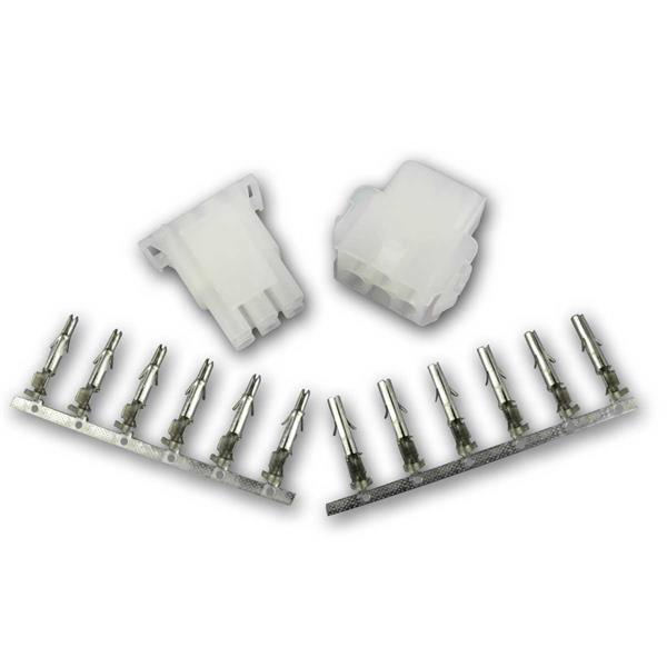 Steckverbinder Paar 6-polig Stecker / Buchse