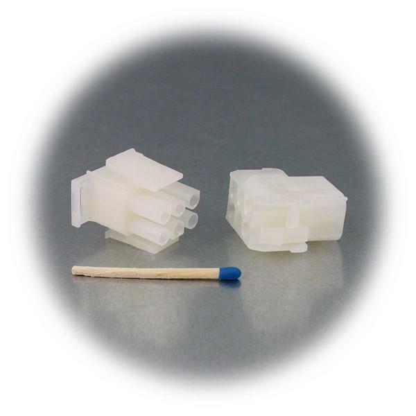Stecker und Buchse für lösbare Verbindungen