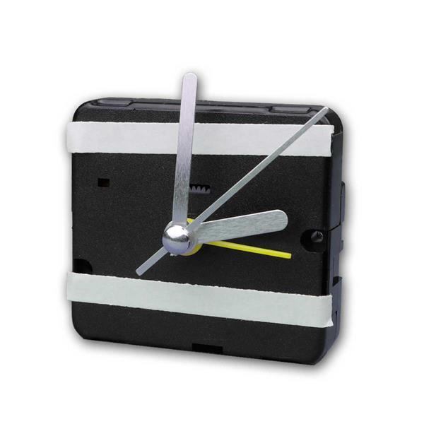 Quarz-Uhrwerk mit Weckfunktion und 3 Zeigersätzen