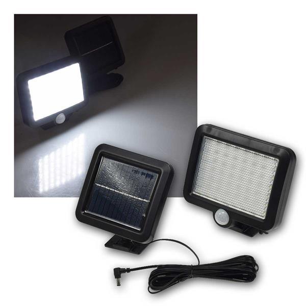 LED Solar Fluter mit Bewegungsmelder 450lm IP44