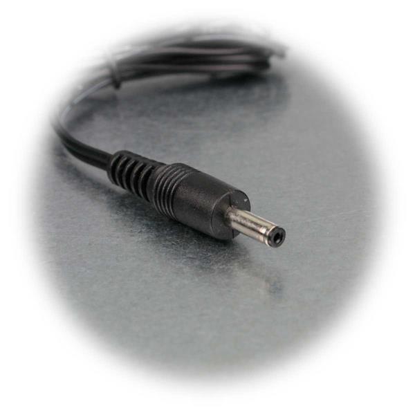 Anschlussleitung mit 3,5mm DC Hohlstecker