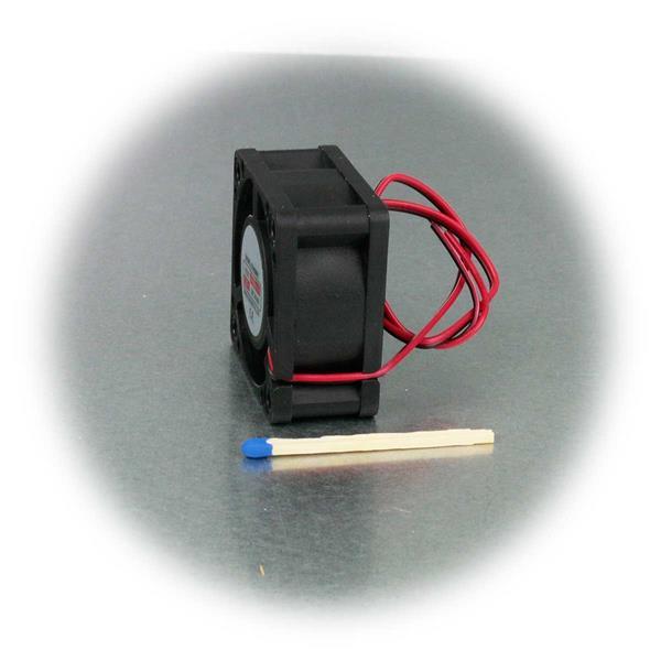 12 V/DC Mini-Lüfter mit 3600 U/Min und 9,1cbm/Std