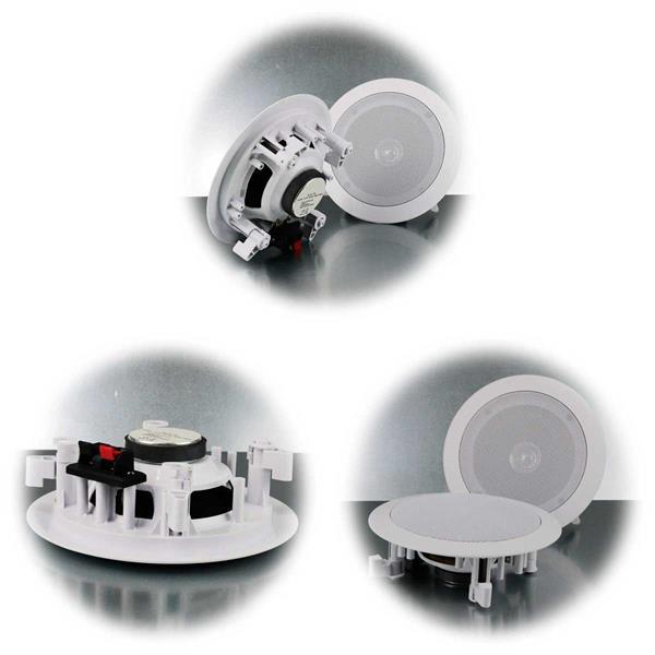 Dual cone Einbaulautsprecher mit 8, 10 oder 20W Leistung