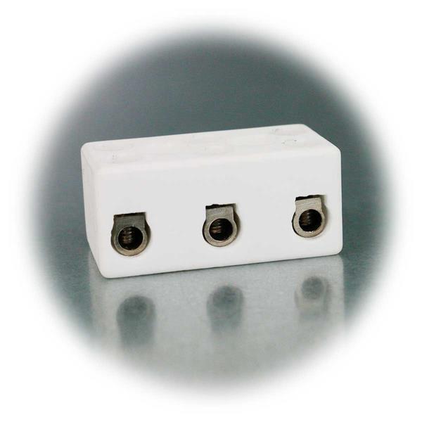 Lüsterklemme 1-polig und für einen Leiterquerschnitt bis maximal 2,5mm²