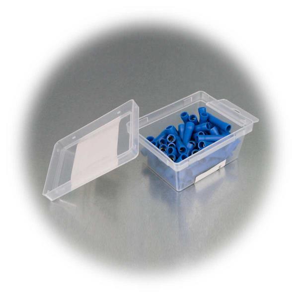 Set mit 50 Stoßverbindern zum schnellen Verbinden von abisolierten Kabeln