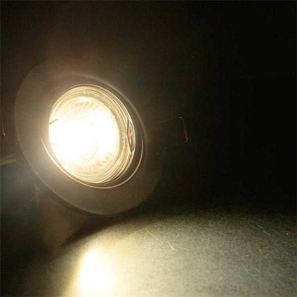 LED Einbauspot MR16 Komplettset für 68mm Einbaudurchmesser