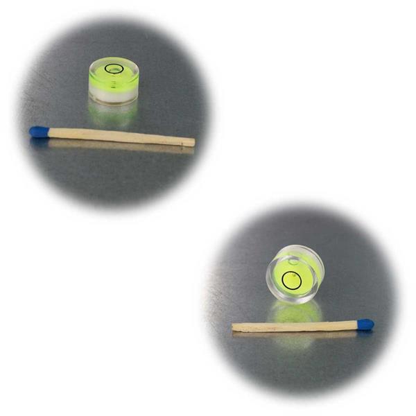 5er Set grüne Libellen für Wasserwaagen in 2 Größen
