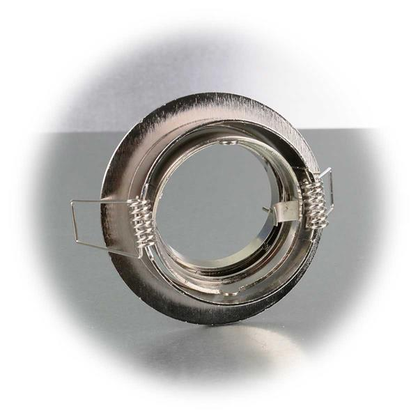 Leuchten Rahmen mit Einbaudurchmesser von ca. 65-70mm