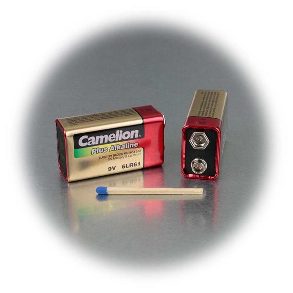 CAMELION Blockbatterie für einer Vielzahl von Geräten