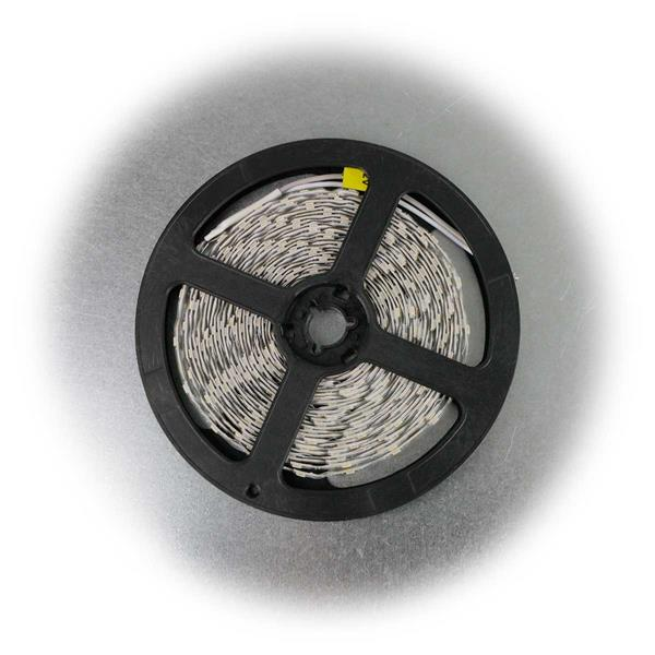 5m LED Stripe 12V 500lm/m mit nur 3,8W/m Verbrauch
