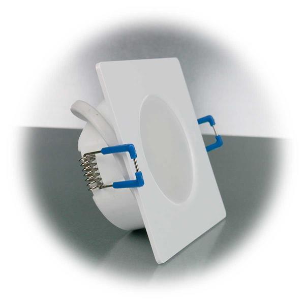 LED Einbauspot in superflacher Bauweise für Feuchträume