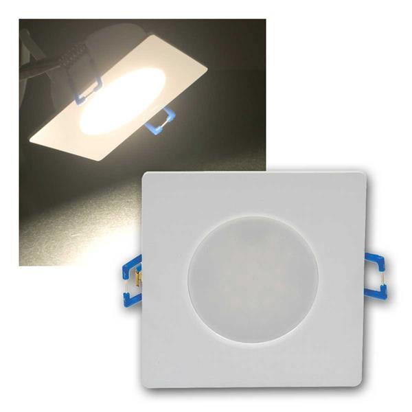 LED-Einbauleuchte Flat-30 FR-Q, neutralweiß,IP44