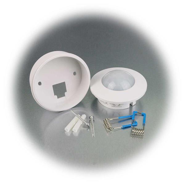 Sensor schaltet angeschlossene Lampen bei Bewegung ein
