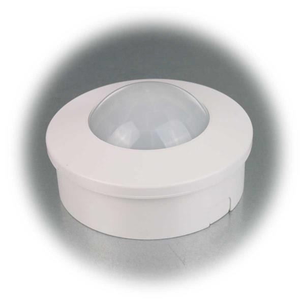 Bewegungsmelder mit Aufputzrahmen auch für LEDs geeignet