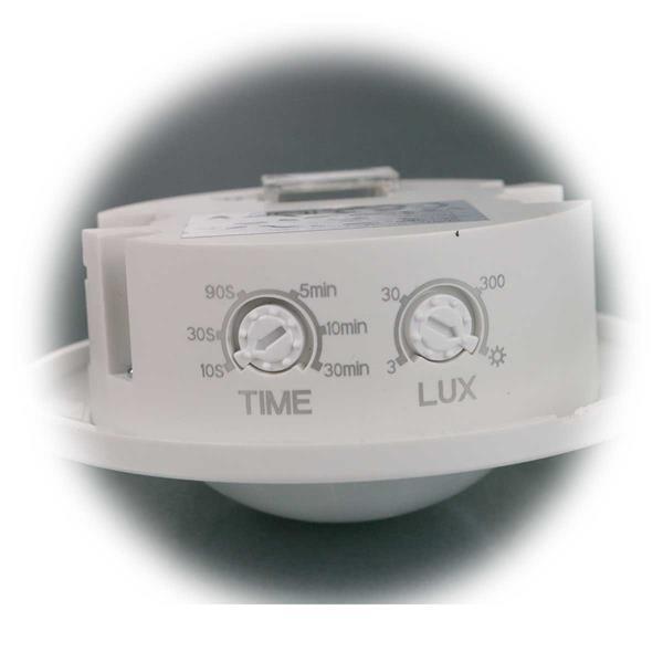 Melder mit einstellbarer Lichtempfindlichkeit und Schaltdauer