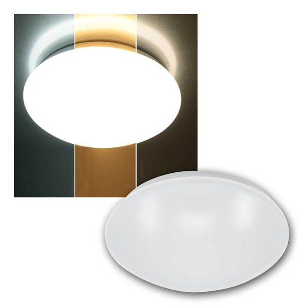 LED Deckenleuchte Polycromo 12, 230V, 12W