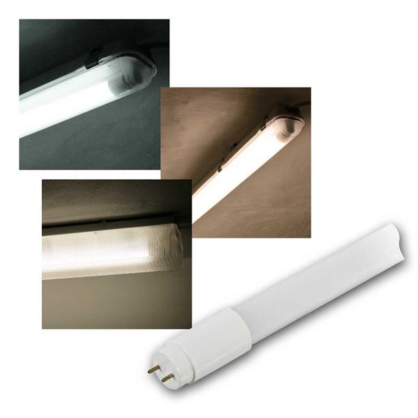 LED-Röhre, T8, 0,6/1,2/1,5m, 3 Lichtfarben, 9 Type